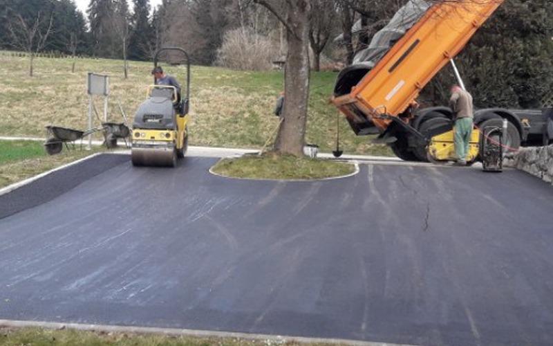 ugodno asfaltiranje cest osrednja slovenija