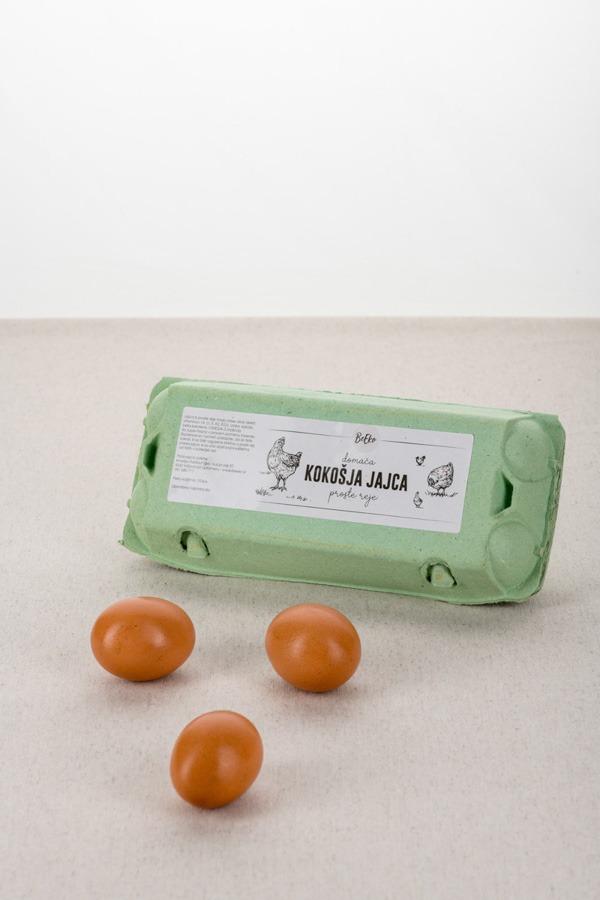 domača kokošja jajca proste reje BeEko