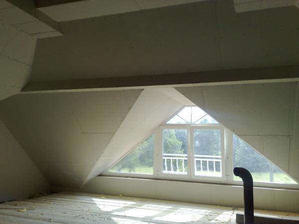 Izdelava mansard in spuščanje stropov MONTGAL
