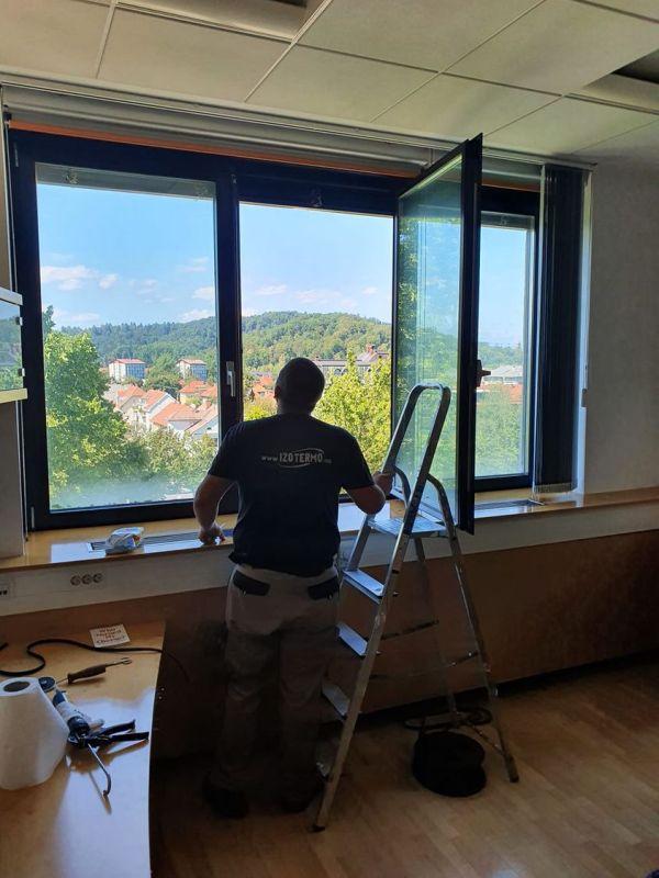 Tesnenje ALU oken ELES Izo Termo Ivica Vrbanac