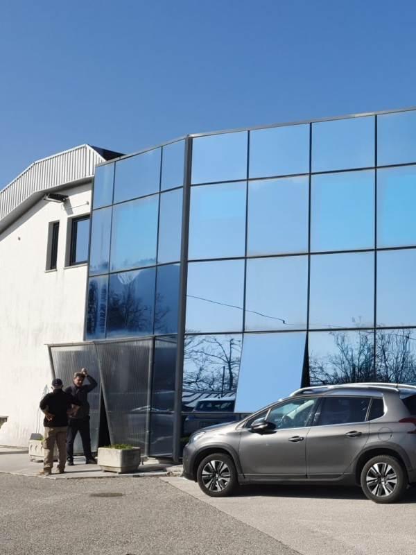 Tesnenje ALU oken in vrat Izo Term Ivica Vrbanac Overseas Express