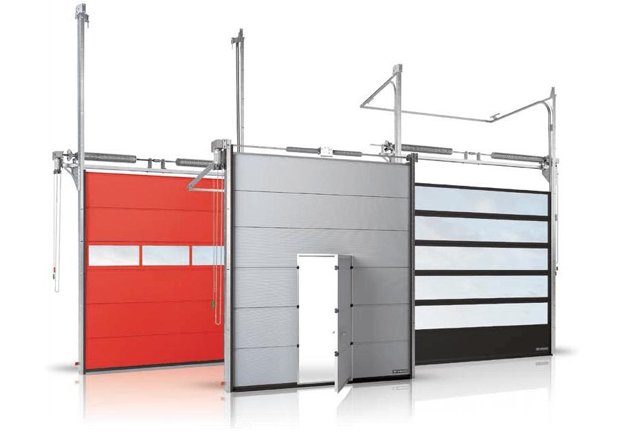 Sekcijska industrijska vrata AMS DIZAJN